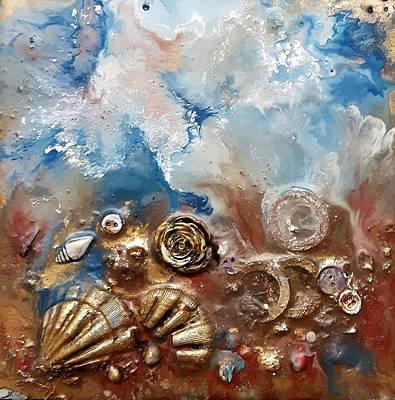Painting - #997 A Rose by Linda Skibinsky
