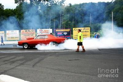 Wall Art - Photograph - 9990 08-04-2013 Lebanon Valley Dragway Night Of Fire by Vicki Hopper