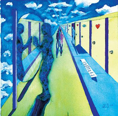 9th Step Art Print by Lucinda Blackstone