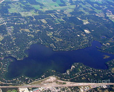 Photograph - A-007 Altoona Lake Eau Claire Wisconsin by Bill Lang