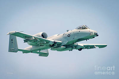 Photograph - A-10 Thunderbolt II by Rene Triay Photography