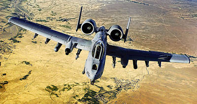Photograph - A-10 Thunderbolt II by Weston Westmoreland