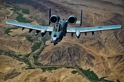 Photograph - A-10 Thunderbolt by USAF Jeffrey Allen