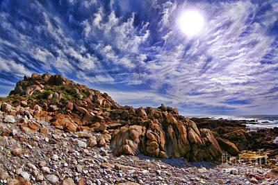 Photograph - A 17 Mile Drive View by Blake Richards