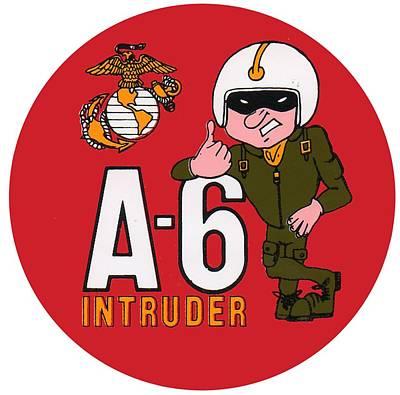 A-6 Intruder Art Print