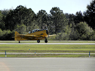 Photograph - A-6 Texan Touch And Go A by Chris Mercer
