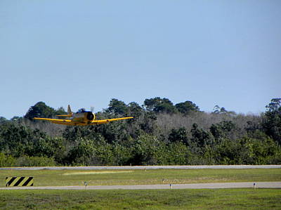 Photograph - A-6 Texan Touch And Go B by Chris Mercer