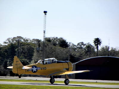 Photograph - A-6 Texan Touch And Go C by Chris Mercer