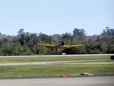 Photograph - A-6 Texan Touch And Go  by Chris Mercer