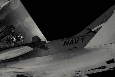 A-7e Corsair II Fighter Art Print