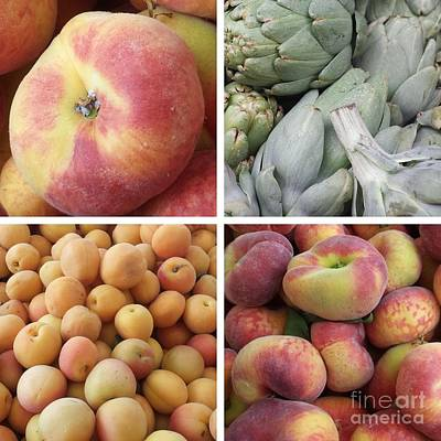 A Apples Artichokes Apricots Art Print by GJ Glorijean