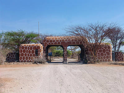 A Gate In Samburu National Park Original