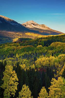 Photograph - A Autumn Morning In Colorado by John De Bord