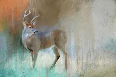 Painting - A Backwards Look by Jai Johnson