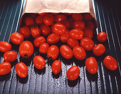 A Bag Of Tomatoes Print by Steven Huszar