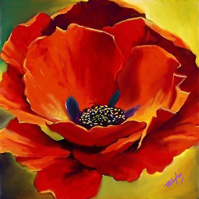Painting - A Balst Of Beauty by Ralph Taylor
