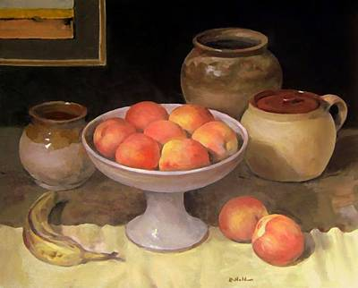 Painting - Peaches Are For Painting by Robert Holden