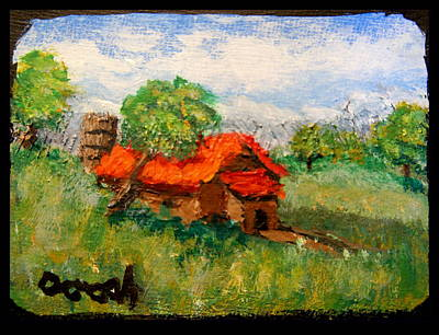 Painting - Farm House by Gregory Dorosh