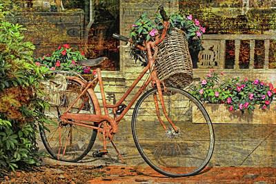 A Basketful Of Spring Art Print