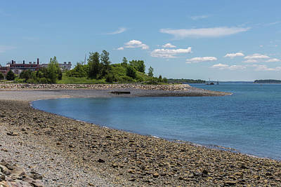 Photograph - A Beach At Deer Island by Brian MacLean
