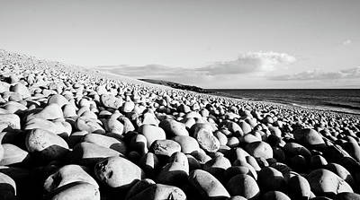 A Beach Of Stones Art Print