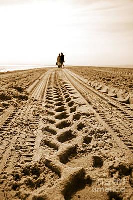 A Beach Stroll Art Print by Jorgo Photography - Wall Art Gallery