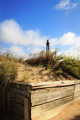 Photograph - A Beacon In The Sand by Joni Eskridge