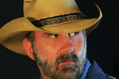 Travel - A Bearded Cowboy by Derrick Neill
