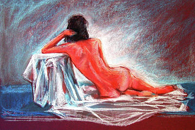Painting - A Beautiful Back by Johannes Margreiter