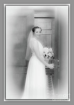 Photograph - A Beautiful Bride by Deborah Klubertanz