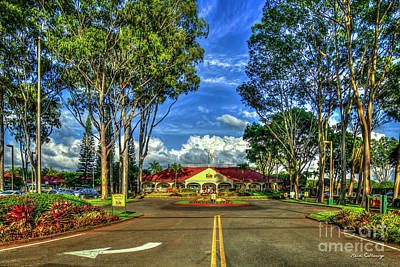 Photograph - A Beautiful Day Dole Plantation Wahiawa  Oahu Hawaii Collection Art by Reid Callaway