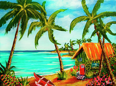 A Beautiful Day  Oahu #357 Art Print by Donald k Hall