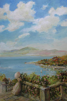 Lansdcape Painting - A Beautiful Day by Tigran Ghulyan