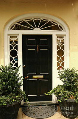 Photograph - A Beautiful Old Town Charleston Door by Christiane Schulze Art And Photography