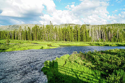 Summer Photograph - A Beautiful River by Ric Schafer