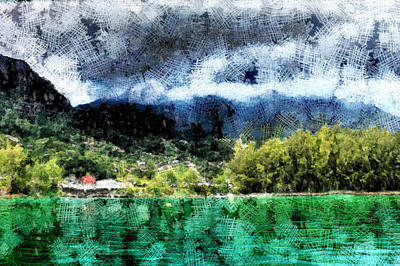 A Beautiful Swiss Landscape Art Print by Ashish Agarwal