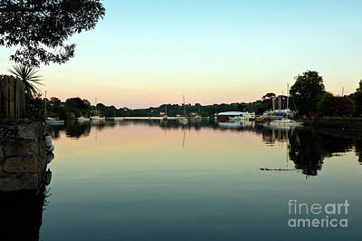 Photograph - A Beautiful View At Sunset by Terri Waters