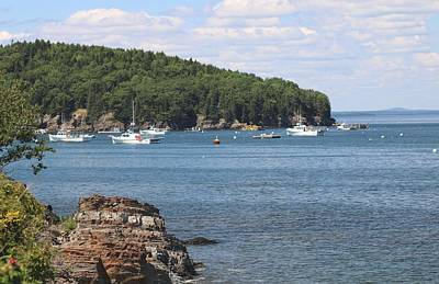 Photograph - A Beautiful View Of Bar Harbor by Living Color Photography Lorraine Lynch