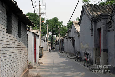 Photograph - A Beijing Hutong by Teresa Zieba