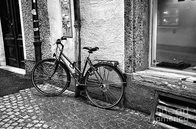 Photograph - A Bike In Salzburg by John Rizzuto