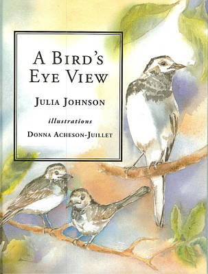 Painting - A Bird's Eye View Jerboa Books by Donna Acheson-Juillet