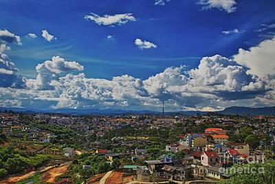 A Bit Of Disneyland In Dalat, Vietnam, Southeast Asia Art Print by Sam Antonio Photography