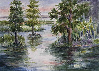 Painting - A Bit Of Heaven - Florida by Roxanne Tobaison