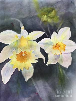 Painting - A Bit Of Spring by Yohana Knobloch