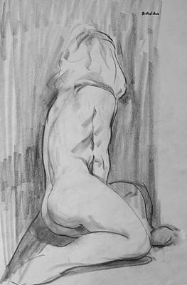 Drawing - A Bit Of Tension by Robert Holden