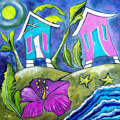 Painting - A Bit Of Whimsy by Julie  Hoyle