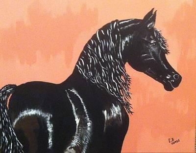 Painting - A Black Tie Affair by Chris Bajon Jones