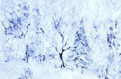 Painting - A Blanket Of Snow by Hazel Holland
