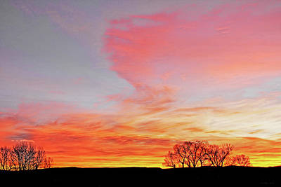 Photograph - A Blaze Of Color Montana Morning by Jennie Marie Schell