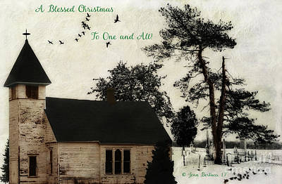 Photograph - A Blessed Christmas... by Joan Bertucci